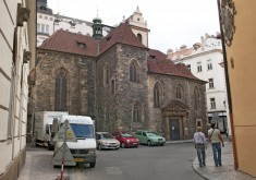 Prague – Church of St. Martin in the Wall