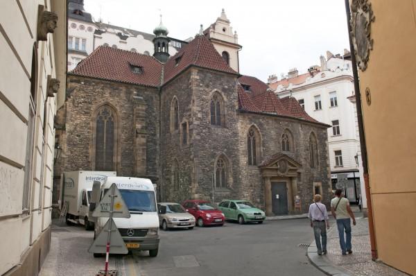 Prag - Sankt Martin in der Mauer Kirche