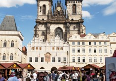 Prague – Church of Our Lady before Týn